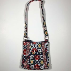 Vera Bradley Quilted Cross Body Bag Multi Color